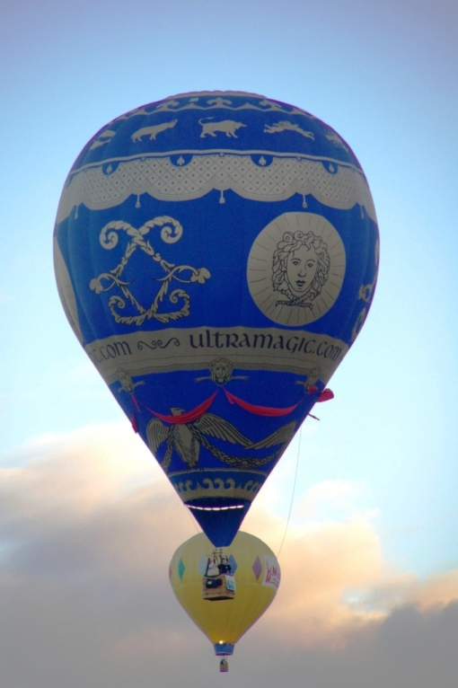 This is a replica of the first hot air balloon to go on a flight. That was 1903 in France.